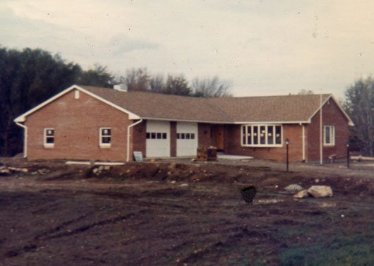 The base almost completed in 1968