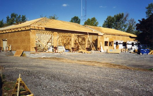 Construction of our current base in 2000.